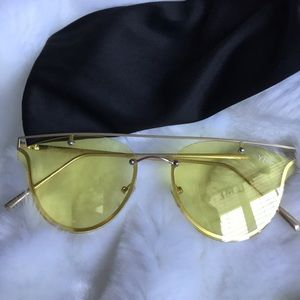 YHF yellow lenses glasses